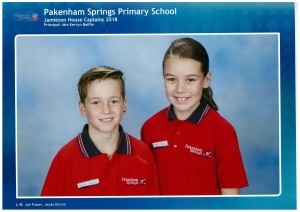House Captains for Jamieson - Jye & Jayda
