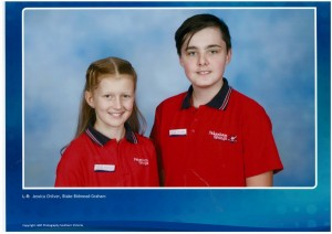 School Captains - Jessica & Blake