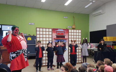 Momotaro Puppet Theatre Incursion